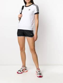 Adidas спортивные шорты с контрастными полосками по бокам DY2024