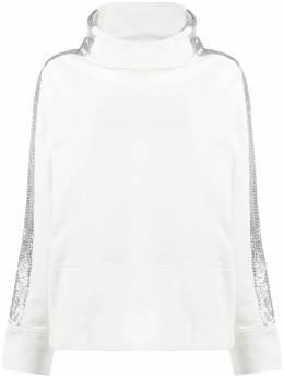Pinko свитер Fame в полоску металлик FAME1B148AY54B