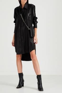 Черное платье-рубашка Alexander Wang 368166752