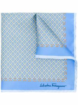 Salvatore Ferragamo шарф с принтом Gancini 725177