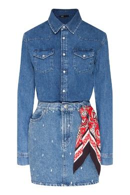 Синее джинсовое платье Maje 888166768