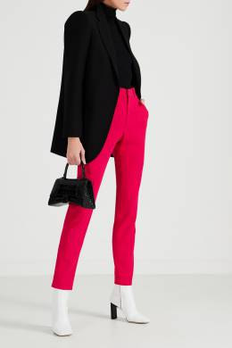 Черный пиджак с усиленной линией плеч Balenciaga 397166560