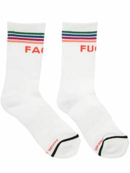 Fuckface Intarsia Cotton Socks Mother 71IRT4017-RkZB0