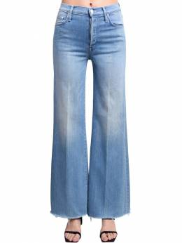 Tomcat Rolled Wide Leg High Jeans Mother 71IRT4007-UFdS0