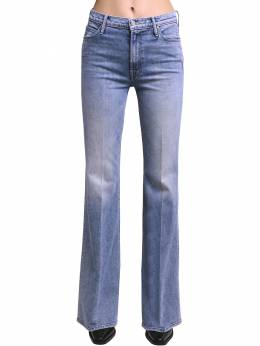 Doozy Flared High Rise Cotton Jeans Mother 71IRT4003-MTVN0