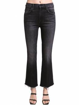 Desperad Cotton Stretch Flared Jeans Mother 71IRT4002-U0da0