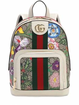 Flora Gg Supreme Small Backpack Gucci 71IIJS016-ODcyMw2
