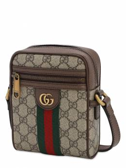 Coated Gg Supreme Ophidia Flight Bag Gucci 71IH0L030-ODc0NQ2