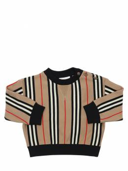 Icon Striped Cotton Sweatshirt Burberry 71I937028-QTcwMjk1