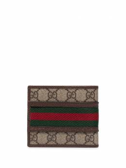 Gucci бумажник Ophidia с узором GG Supreme 59760996IWT