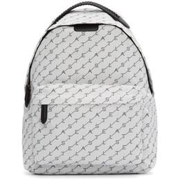 Stella McCartney White Monogram Falabella Backpack 201471F04203601GB