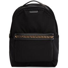 Stella McCartney Black Falabella Backpack 581249W8091