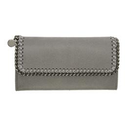 Stella McCartney Grey Falabella Flap Wallet 201471F04011501GB