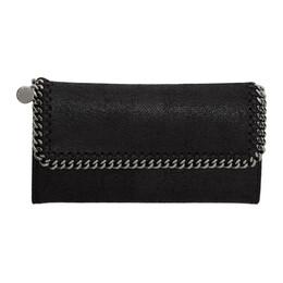 Stella McCartney Black Falabella Flap Wallet 201471F04011401GB