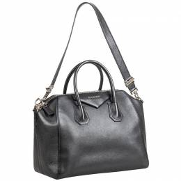 Givenchy Black Leather Antigona Bag 239303