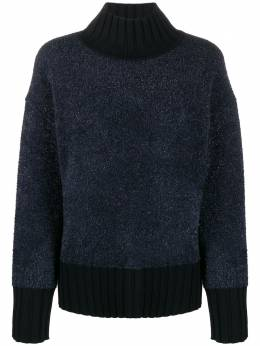 Tory Burch свитер оверсайз с люрексом 57479