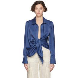 Jacquemus Blue La Chemise Bahia Shirt 192553F10700302GB