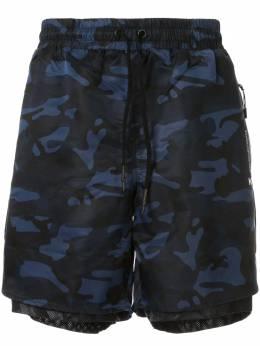 Koral спортивные шорты с принтом KM2004N02