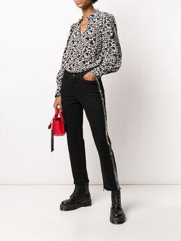 Zadig & Voltaire блузка с принтом SJCP0504F