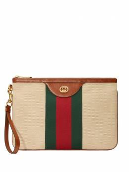 Gucci парусиновый клатч Vintage 57605398BFG