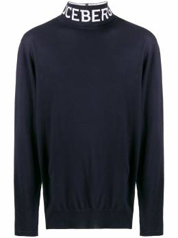 Iceberg logo turtle neck jumper A00370097009