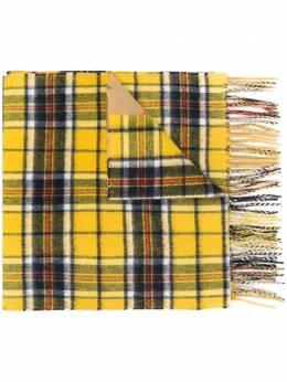 Burberry contrast check jacquard scarf 8022484