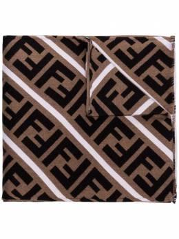 Fendi шарф с монограммой FXS124AA12