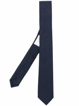 Thom Browne классический галстук с 4 полосками MNL001A04347