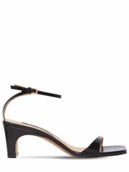60mm Leather Sandals Sergio Rossi 71IM1G015-MTAwMA2
