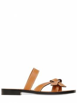 10mm Gate Leather Sandals Loewe 71ILO5010-MzY0OQ2