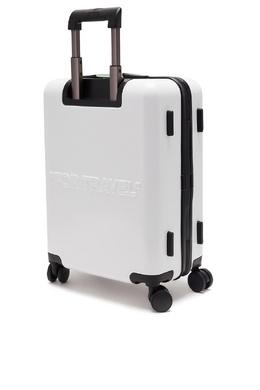 Белый чемодан на колесиках Off-White 2202166857