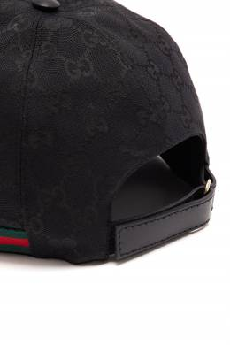 Бейсболка Original GG с лентой Web Gucci 470167001