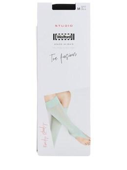 Toe Fusion Matte Stretch Nylon Socks Wolford 70IVOP009-NzAwNQ2