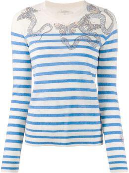 Zadig & Voltaire Miss embellished mariner jumper SJMZ1110F