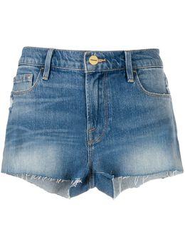 Frame джинсовые шорты с бахромой LCSR439