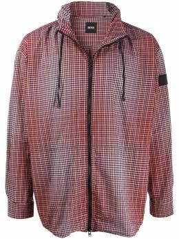 Boss Hugo Boss легкая куртка в клетку 50420938