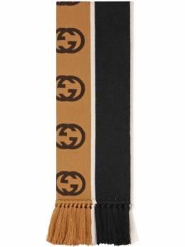 Gucci шарф с логотипом GG 5756054G184