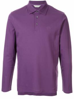 Gieves & Hawkes рубашка-поло с вышитым логотипом G38H8EI01027