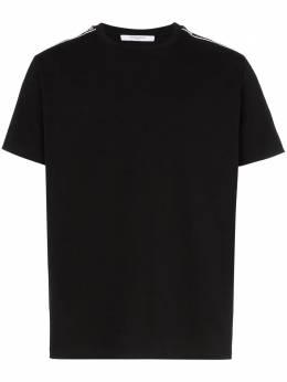 Givenchy футболка с полосками с логотипом BM70JK308V