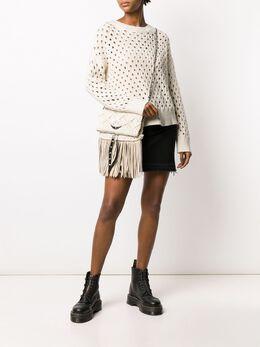 Zadig & Voltaire Douna crochet jumper SJMT1102F