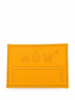 A-Cold-Wall* нашивка с вышитым логотипом PA4