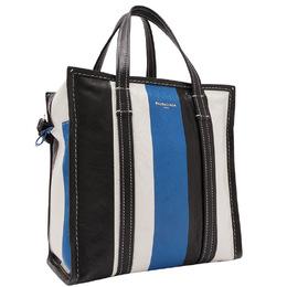 Balenciaga Multicolor Leather Bazar Shopper S Bag