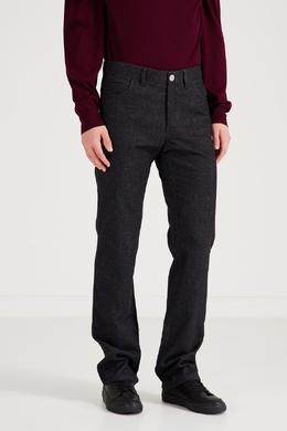 Прямые сине-серые джинсы Brioni 1670166941