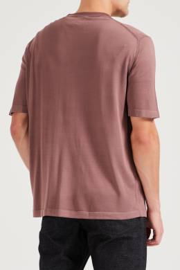 Розово-коричневый пуловер Brioni 1670166919