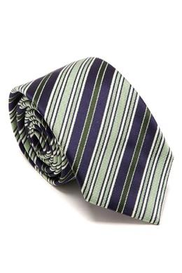 Полосатый шелковый галстук Brioni 1670166964