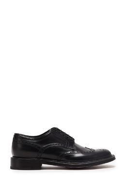Черные ботинки-дерби Brioni 1670166957