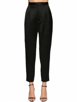 High Waist Satin Pants Saint Laurent 71IA8C036-MTAwMA2