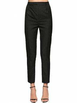 Classic Pinstripe Cool Wool Pants Saint Laurent 71IA8C019-MTA4MQ2