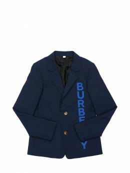 Logo Print Cool Wool Jacket Burberry 71I91K009-QTEyMjI1