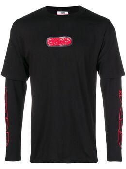 Gcds футболка с длинными рукавами FW19M020015